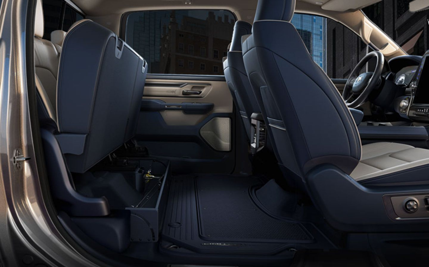 Ram Interior Storage Feature Underseat L Jpg Image on Lifted Dodge Dually